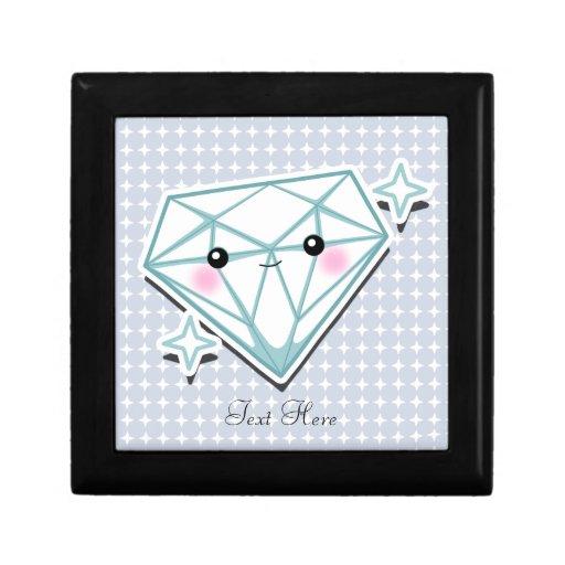 Personalizado Giftbox del diamante Caja De Joyas