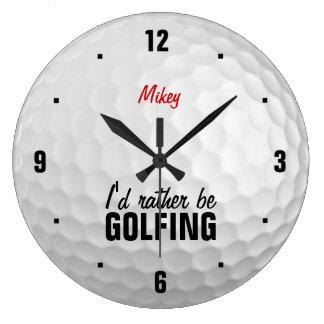 Personalizado golfing bastante relojes