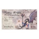 Personalizado gótico de hadas de la tarjeta de vis plantilla de tarjeta de visita