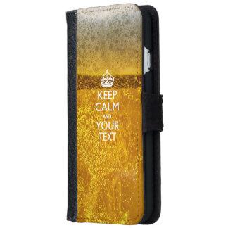 Personalizado GUARDE la CALMA Y su texto Carcasa De iPhone 6