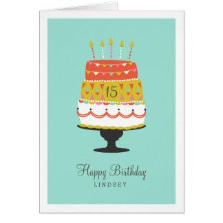 Personalizado haga un deseo tarjeta de felicitación