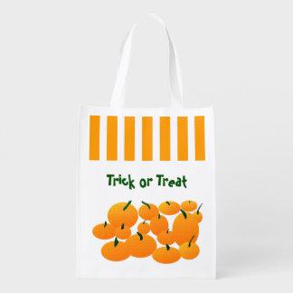 Personalizado Halloween del remiendo de la Bolsas Para La Compra