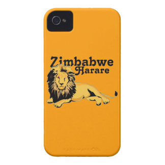 Personalizado Harare de Africankoko. Zimbabwe Carcasa Para iPhone 4