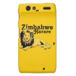 Personalizado Harare de Africankoko. Zimbabwe Droid RAZR Fundas