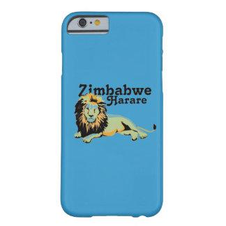 Personalizado Harare de Africankoko. Zimbabwe Funda Barely There iPhone 6