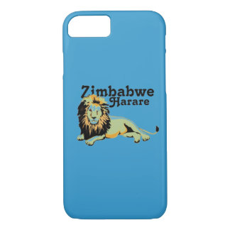 Personalizado Harare de Africankoko. Zimbabwe Funda iPhone 7