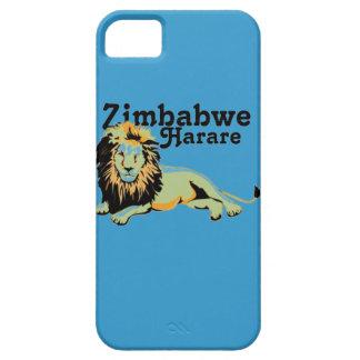 Personalizado Harare de Africankoko. Zimbabwe Funda Para iPhone 5 Barely There