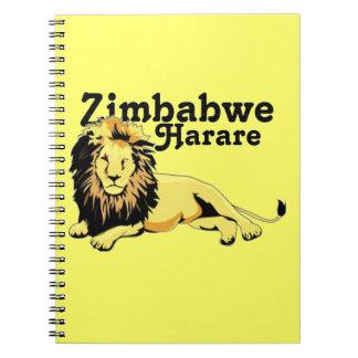 Personalizado Harare de Africankoko Zimbabwe Cuadernos