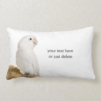 Personalizado hermoso de la foto del pájaro blanco cojines