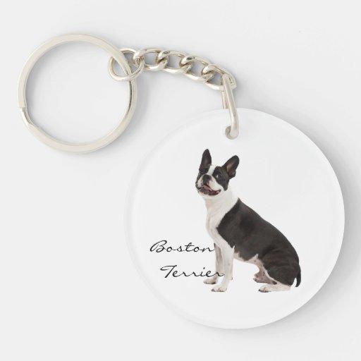 Personalizado hermoso de la foto del perro del dog llavero