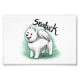 Personalizado - impresión de Starbuck Fotografía