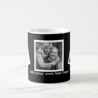 Personalizado inclinado de las fotos personalizado taza clásica