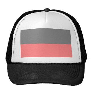 personalizado inferior negro superior de la ligere gorras de camionero