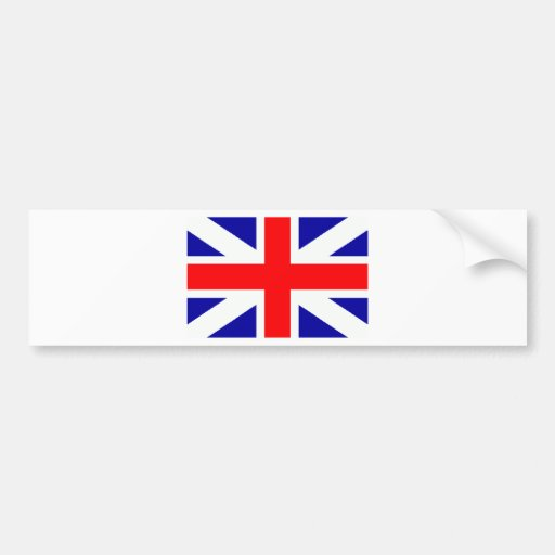 Personalizado Inglaterra de la capilla del represe Pegatina De Parachoque