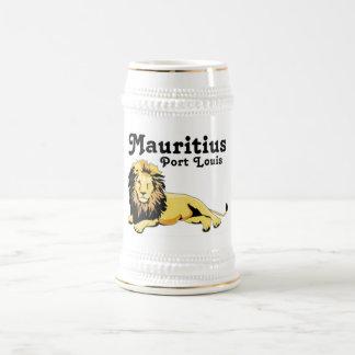 Personalizado la República de Mauricio de Jarra De Cerveza