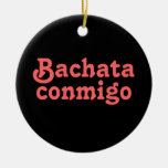 Personalizado latino del baile de la salsa de Bach Ornamentos Para Reyes Magos