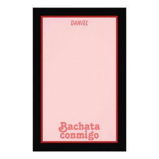 Personalizado latino del baile de la salsa de Bach Papeleria