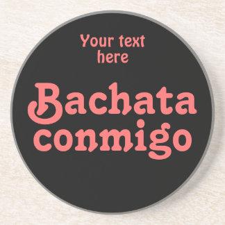 Personalizado latino del baile de la salsa de Bach Posavasos Personalizados
