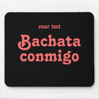 Personalizado latino del baile de la salsa de Bach Alfombrilla De Ratones