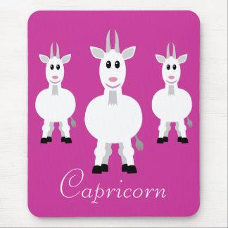 Personalizado lindo de la muestra del zodiaco del  alfombrillas de ratones