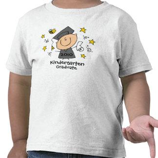 Personalizado lindo del graduado del muchacho camisetas