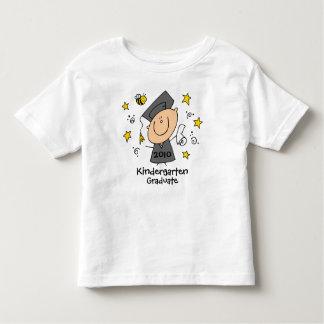 Personalizado lindo del graduado del muchacho playera de bebé