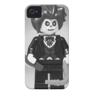 Personalizado malvado Minifig del mago del zombi Case-Mate iPhone 4 Cárcasas