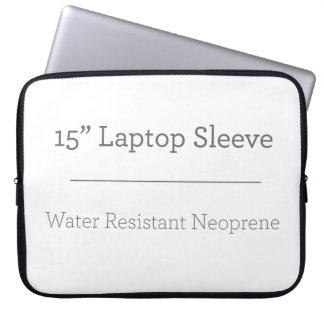 Personalizado manga del ordenador portátil de 15 p funda portátil