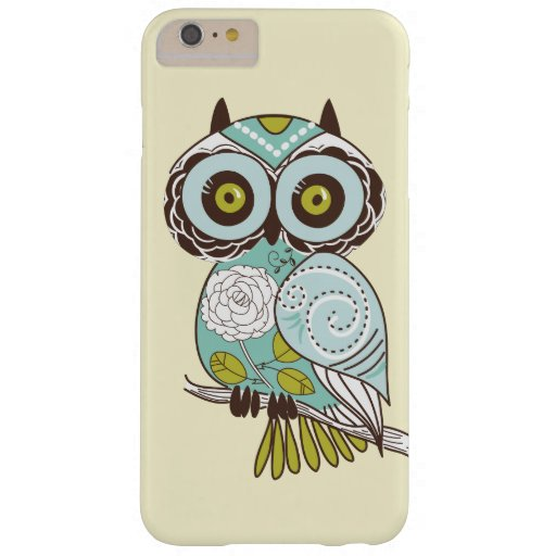 Personalizado maravilloso retro de lujo lindo del funda de iPhone 6 plus barely there