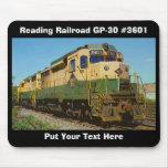 Personalizado Mousepad del ferrocarril GP-30 #3601