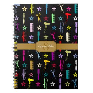 Personalizado multicolor de las tonalidades elegan libros de apuntes