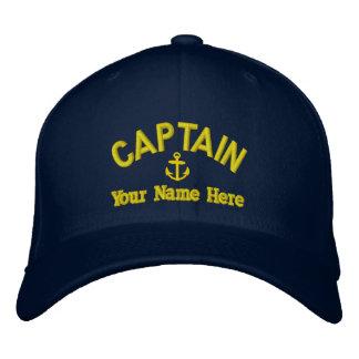 Personalizado navegando a capitanes gorras de beisbol bordadas