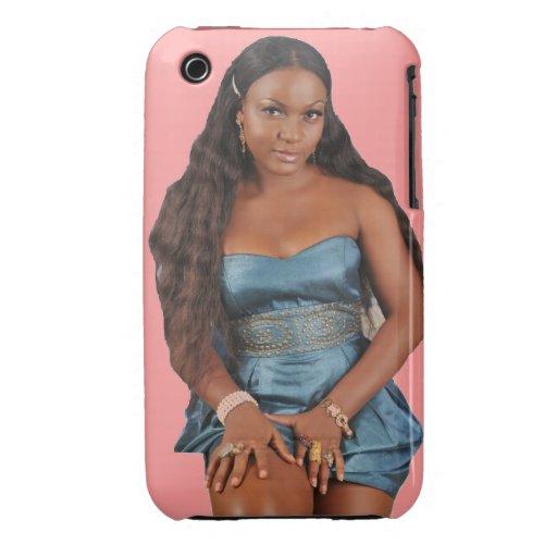 Personalizado Nollywood de Africankoko Case-Mate iPhone 3 Protectores