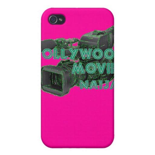 Personalizado Nollywood de Africankoko iPhone 4 Funda