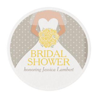 Personalizado nupcial del vestido de boda de la
