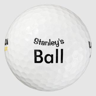 Personalizado Pack De Pelotas De Golf