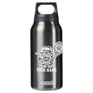 Personalizado para los jugadores de tenis botella isotérmica de agua
