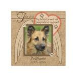 Personalizado para siempre amado de la condolencia impresiones en madera