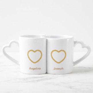 Personalizado personalizado aniversario de la taza taza amorosa