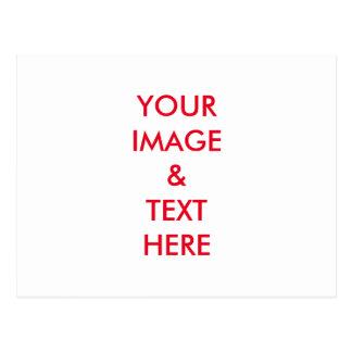 Personalizado personalizado su propia foto tarjetas postales