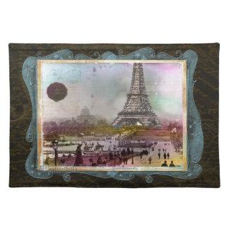 Personalizado Placemats de París en 1880 s de la t Manteles Individuales