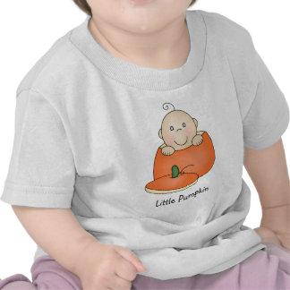 Personalizado poca camiseta de la calabaza