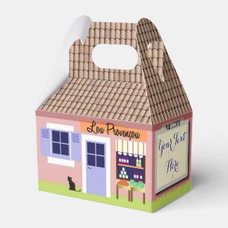 Personalizado poca casa de la caja del favor de caja para regalos de fiestas