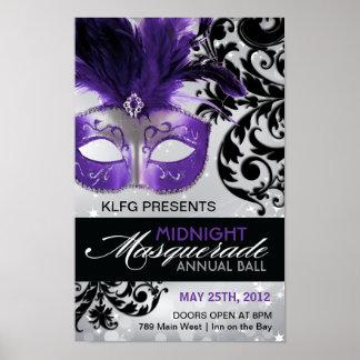 Personalizado - poster de la bola de mascarada