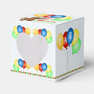 Personalizado real de la fiesta de cumpleaños del cajas para regalos de fiestas