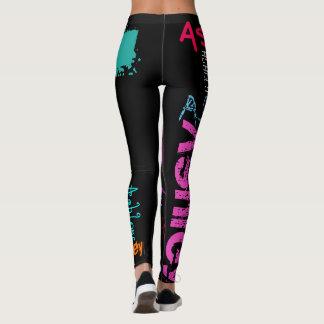 Personalizado repitiendo las polainas de las leggings