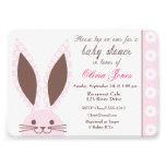 Personalizado rosado de la invitación de la fiesta