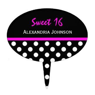 Personalizado: Selección de la torta del dulce 16  Decoración De Tarta
