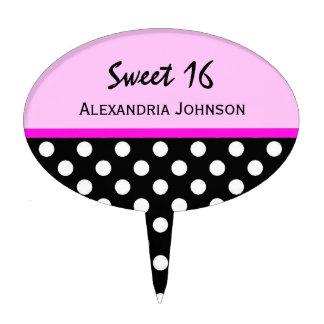 Personalizado: Selección de la torta del dulce 16  Figura Para Tarta