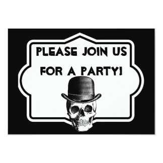 Personalizado sobre la invitación de la fiesta de